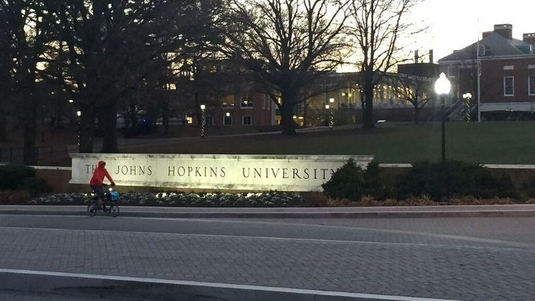 Johns Hopkins University distances itself from a report going viral on the COVID-19 scene in India
