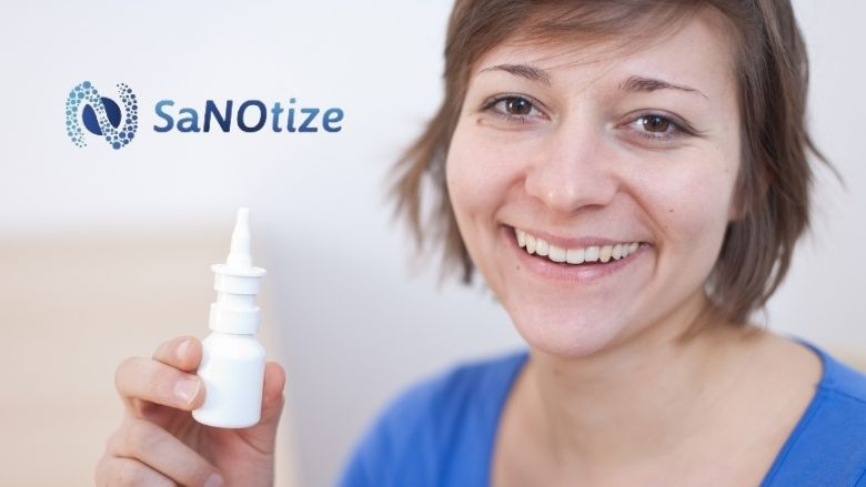 SaNOtize's Nitric Oxide Nasal Spray (NONS) can minimize COVID-19 transmission and symptom severity