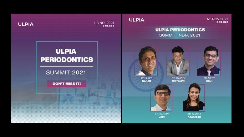 Ulpia Periodontics Summit, 1 – 3 Nov 2021